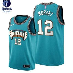 Memphis Grizzlies Ja Morant #12 Jersey Authentic